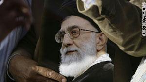 الزعيم الروحي للثورة الإيرانية
