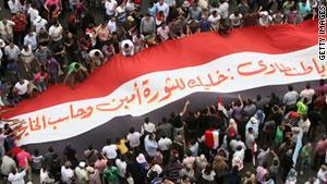 دفعت الانتفاضة الشعبية بالرئيس المصري السابق، حسني مبارك، للتنحي