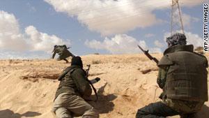 بدأت حملة التحالف الدولي ضد نظام القذافي الأسبوع الماضي