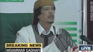 القذافي يواجه عقوبات دولية