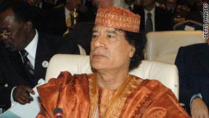 القذافي أكد على ضرورة ''حكم الشعب لنفسه''