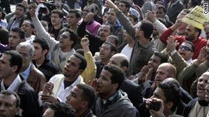محتجون في ''يوم الغضب''