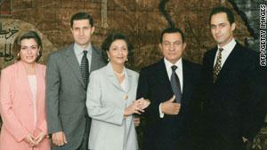سوزان مبارك تدفع باتجاه توريث ابنها الحكم بحسب وثائق ويكيليكس