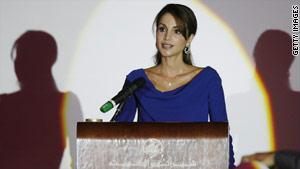 الملكة الأردنية رانيا العبدالله