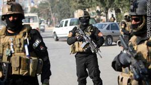 القوات العراقية ما والت غير قادرة على ضبط الوضع الأمني في بغداد