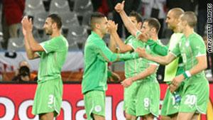 منتخب الجزائر خلال البطولة الأفريقية السابقة في أنغولا
