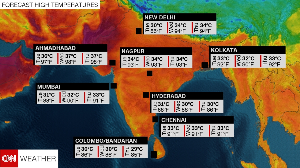 India records its highest temperature ever - CNN
