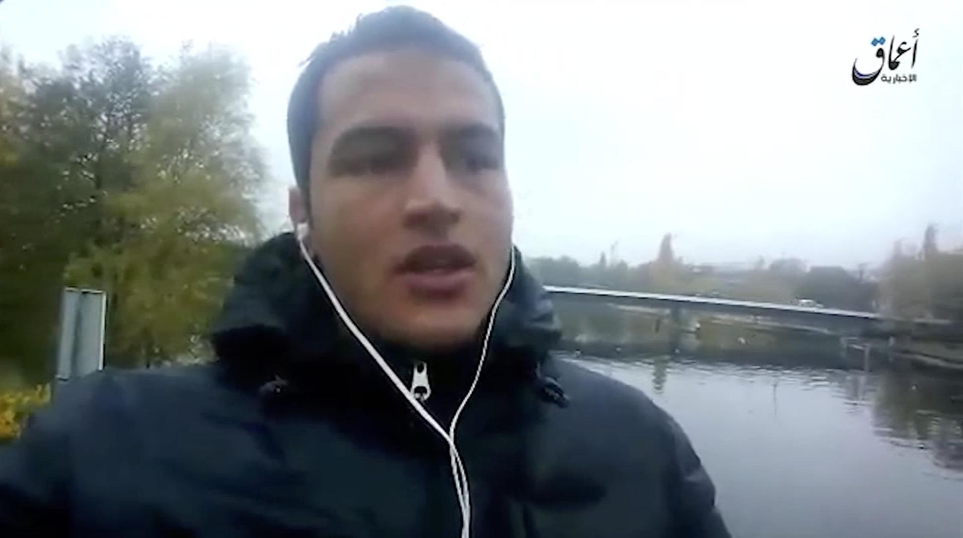 عامري يظهر في شريط فيديو وهو يعلن ولاءه لداعش