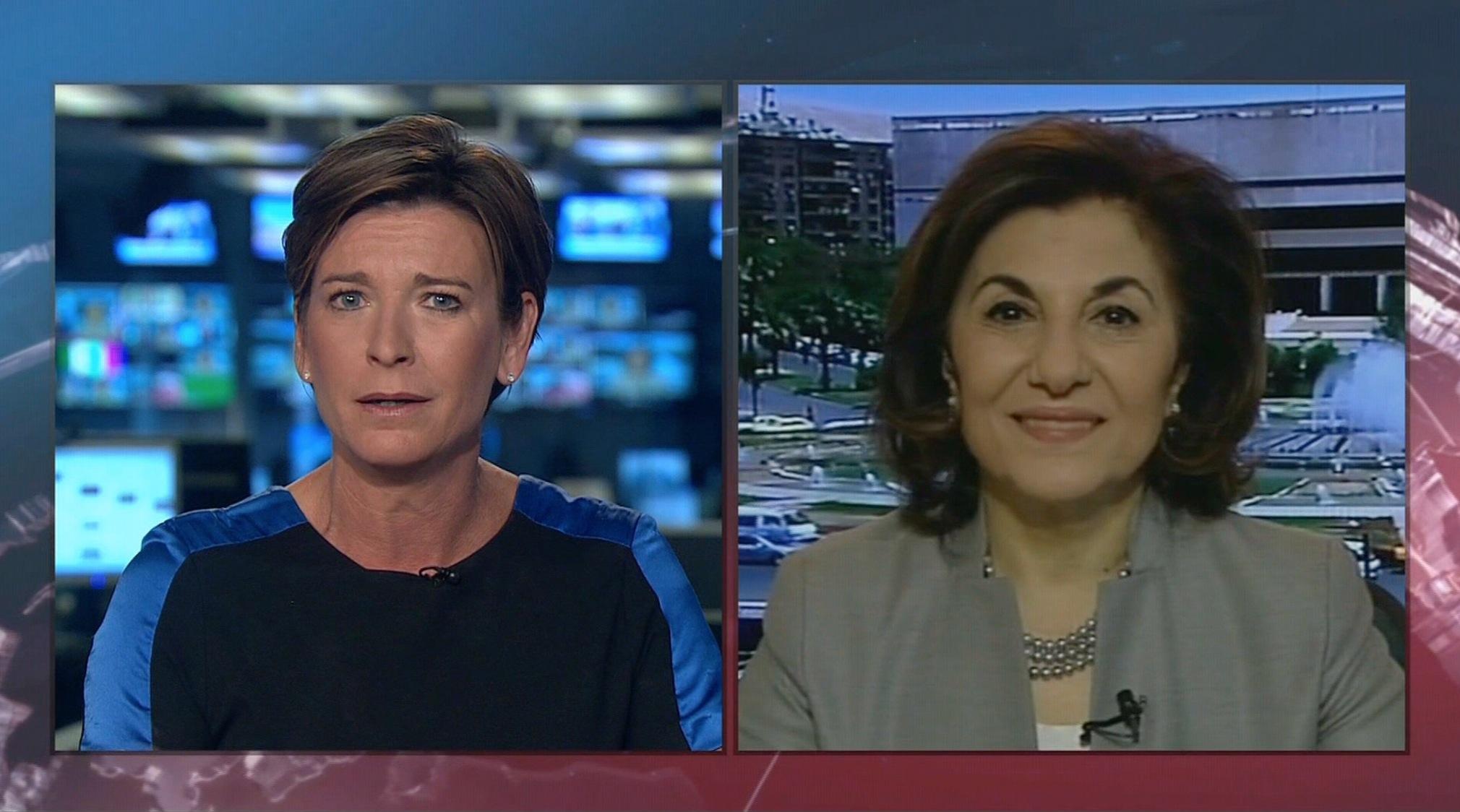 مستشارة الأسد ترد لـCNN على فرح المعارضة السورية بانسحاب روسيا: يرسلون رسائل إعلامية لرفع معنوياتهم