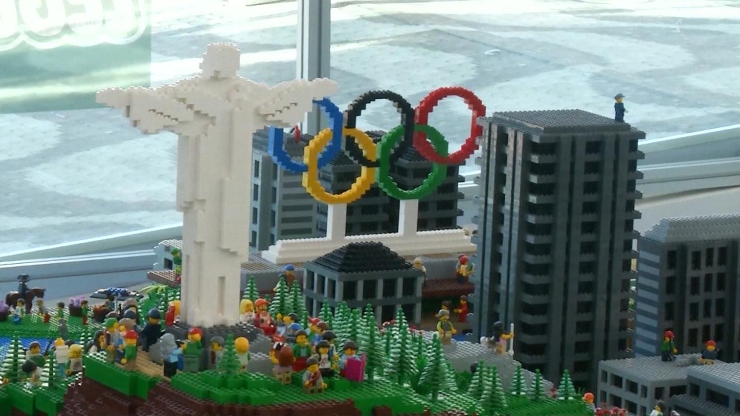 شركة ليغو تصنع مجسماً لأولمبياد ريو قبل المباريات