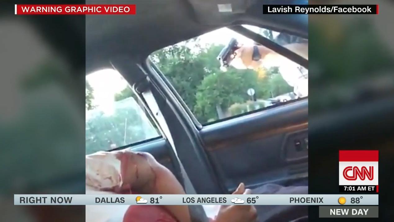 بالفيديو: مقتل ثاني أمريكي أسود برصاص الشرطة خلال 48 ساعة.. وصديقته تنقل بثا مباشرا للحادث