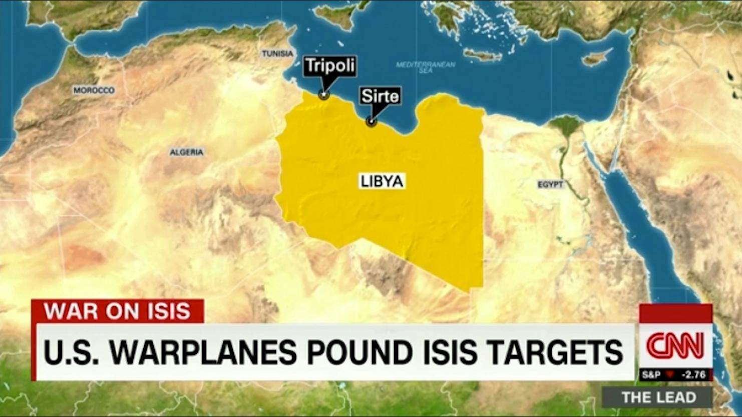 أمريكا تضرب داعش في ليبيا من خلال القصف الجوي.. ماذا كانت الأهداف؟