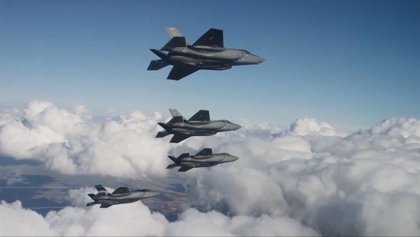 مقاتلات f-35.. إسرائيل تُحكم التفوق بسماء المنطقة