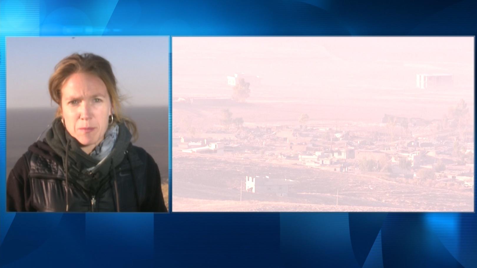 مراسلة CNN تكشف وقائع من أرض المعركة بالموصل