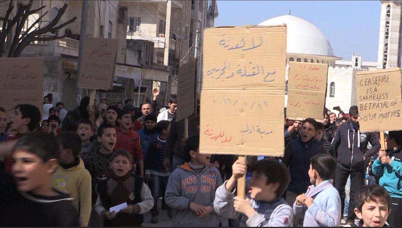 """حصرياً على CNN من قلب أراضي المعارضة السورية… """"وقف إطلاق النار هو خيانة لشهدائنا"""""""