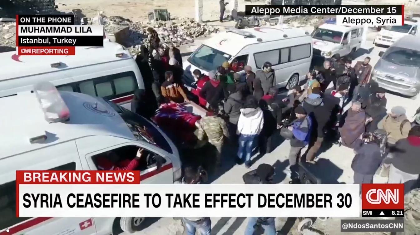 روسيا وسوريا وتركيا: سيبدأ وقف إطلاق النار بعد ساعات