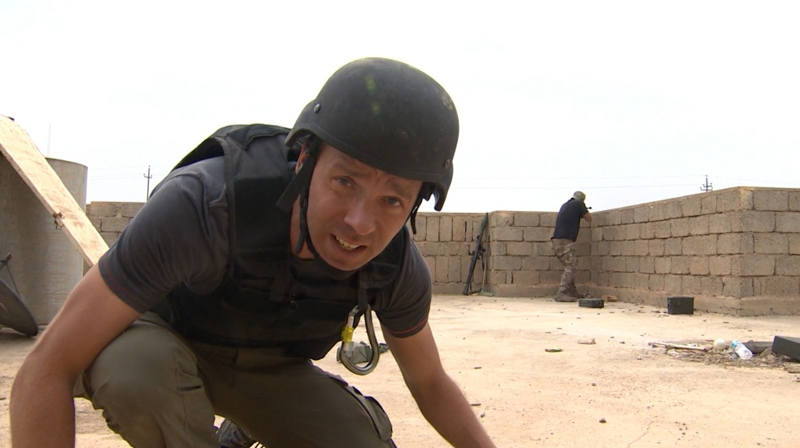 على خط الجبهة الأول في الموصل.. CNN ترافق القوات العراقية