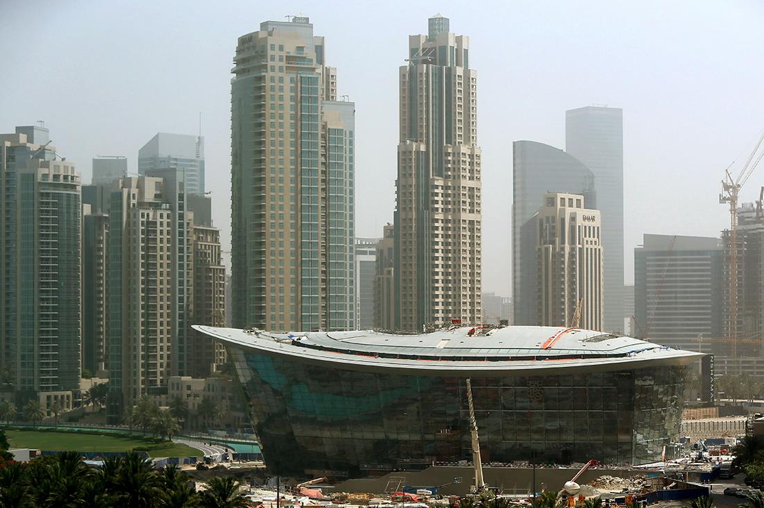 """من داخل """"أوبرا دبي"""".. مشروع بقيمة 330 مليون دولار"""