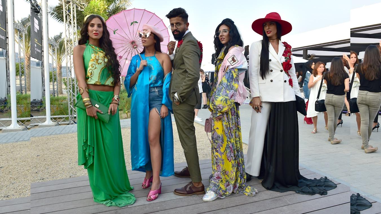 """أزياء الشارع """"""""Street Style..موضة """"صاعقة"""" في """"فاشن فورورد دبي"""""""