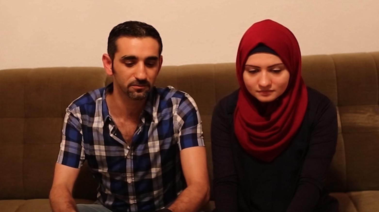 """زوجان يبحثان عن """"حياة جديدة"""" بألمانيا بعيداً عن """"صواريخ حلب"""""""
