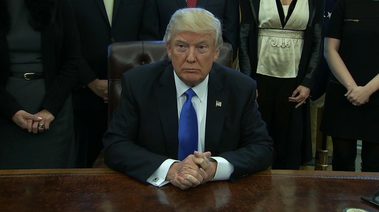 ترامب بعد مرسومه التنفيذي: حظر السفر يعمل بشكل جيد