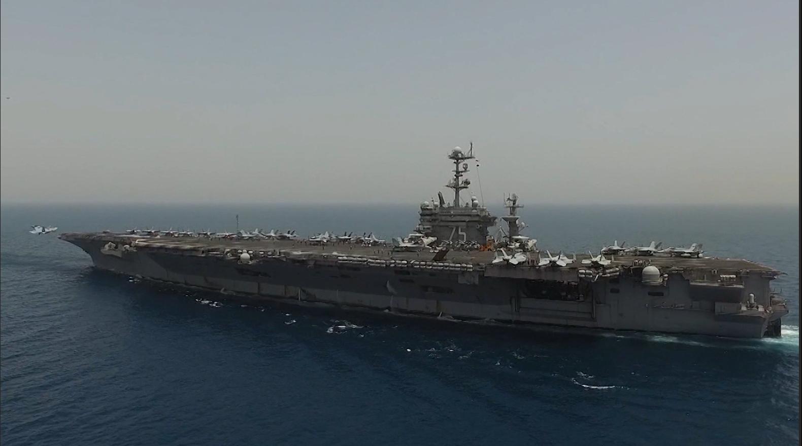 أمريكا تقترب خطوة من صفوف داعش بحاملة طائرات في المتوسط