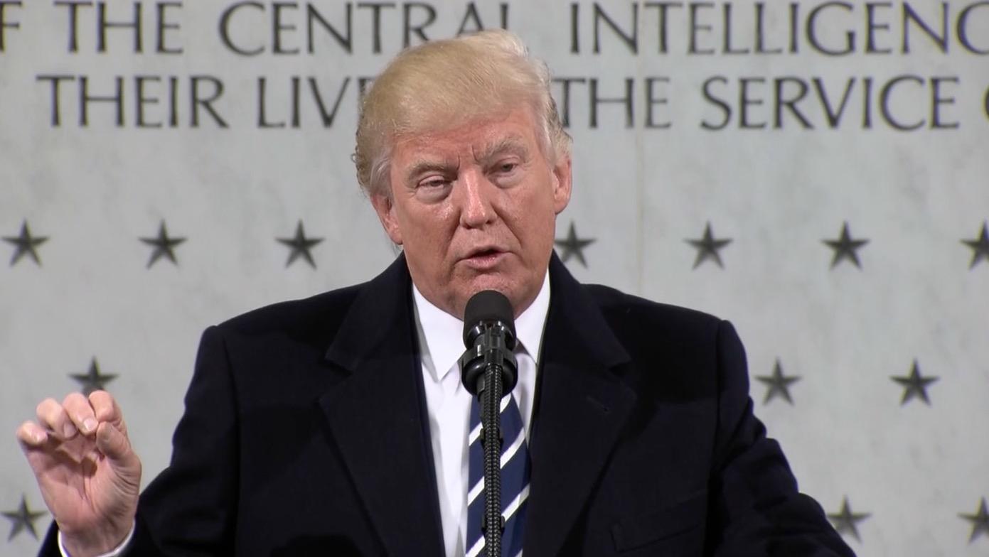 دونالد ترامب من مقر CIA: لم يشهد العالم شراً مثل