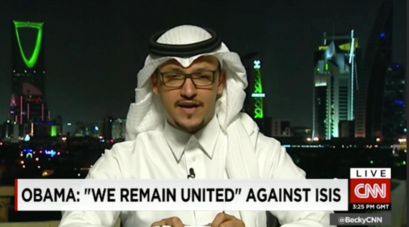 مؤسس لوبي السعودية بأمريكا لـCNN: أوباما لا يتمتع بمعرفة ملمة بالعلاقات الشرق أوسطية