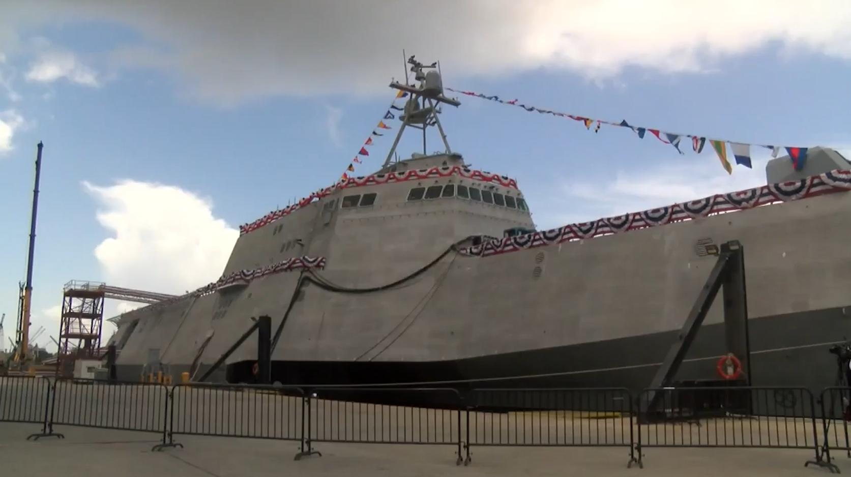 البحرية الأمريكية تُدخل سفينة بـ475 مليون دولار الخدمة وسط زوبعة من الجدل
