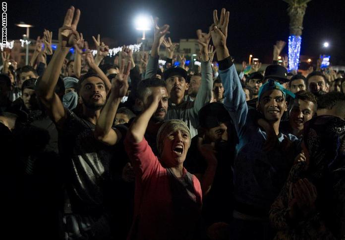 مواجهات بين الأمن ومتظاهرين في الحسيمة بالمغرب خلال تخليد ذكرى الخطابي