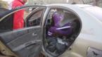 المشاهد الأولى لسيارة أحد قادة القاعدة بعد تفجيرها