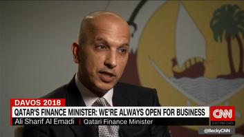 """وزير مالية قطر لـCNN: رغم توقعات بقائنا لأسابيع قليلة بعد """"الحصار"""" إلا أننا مستمرون بالنمو"""