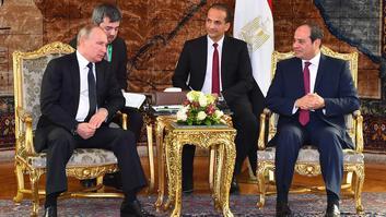 ملفات القدس وسوريا ومكافحة الإرهاب بلقاء بوتين والسيسي في مصر
