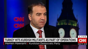 مسؤول بالحزب الديمقراطي الكردي لـCNN: نطلب من الـPKK ضبط النفس.. ونؤيد اتفاق تركيا مع أمريكا لضرب داعش