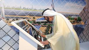 محمد بن راشد يعلن عن أكبر مشروع للطاقة الشمسية المركزة في العالم