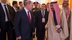الملك سلمان لبوتين: يجب إنهاء الأزمة السورية.. ووقف التدخلات الإيرانية