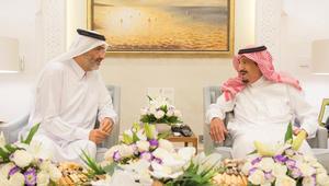 عبدالله بن علي معلنا تجميد قطر لجميع حساباته البنكية: شرف ووسام