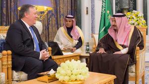 مدير الـCIA يبحث مستجدات المنطقة مع عاهل السعودية بالرياض