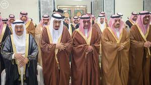 بالصور.. من مراسم تشييع الأمير سعود الفيصل في السعودية