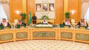 جتماع لمجلس الوزراء السعودية برئاسة الملك سلمان بن عبدالعزيز، الرياض 6 أبريل/ نيسان 2015