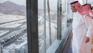 ملك السعودية للقيادات المشرفة على الحج: حادث التدافع لا يقلل مما تقومون به من أعمال جليلة