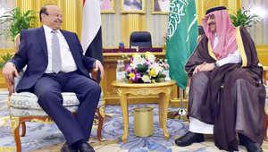 الرئيس اليمني يطالب السعودية بتكثيف الغارات على الحوثيين.. وبحاح: حسم معركة تعز مسألة وقت