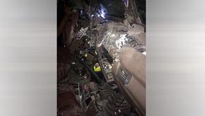 السعودية تنشر صورة لآثار المقذوف المتفجر باعتداء حي الناصرة
