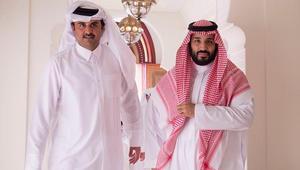 """اتصال بين أمير قطر وولي عهد السعودية بـ""""تنسيق"""" من ترامب"""