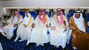 الأمير بندر بن سلطان ضمن مرافقي الملك عبدالله في زيارته الى مصر