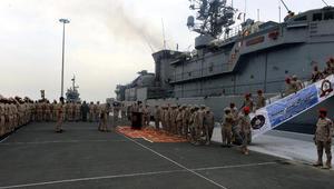 """قائد فرقاطة """"المدينة"""" السعودية يكشف تفاصيل استهدافها قرب ميناء الحديدة"""