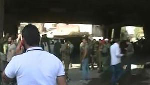 سوريا: قتلى بهجوم انتحاري استهدف مركز شرطة بدمشق