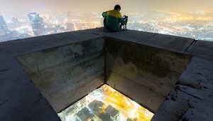 بالفيديو.. متسلقو الجيزة يعيدون إحداث جلبة في هونغ كونغ