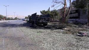 التلفزيون السوري: 3 تفجيرات على طريق المطار وحي العمارة بدمشق