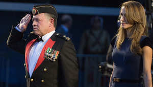 العاهل الأردني الملك عبدالله الثاني، والملكة رانيا - أرشيف